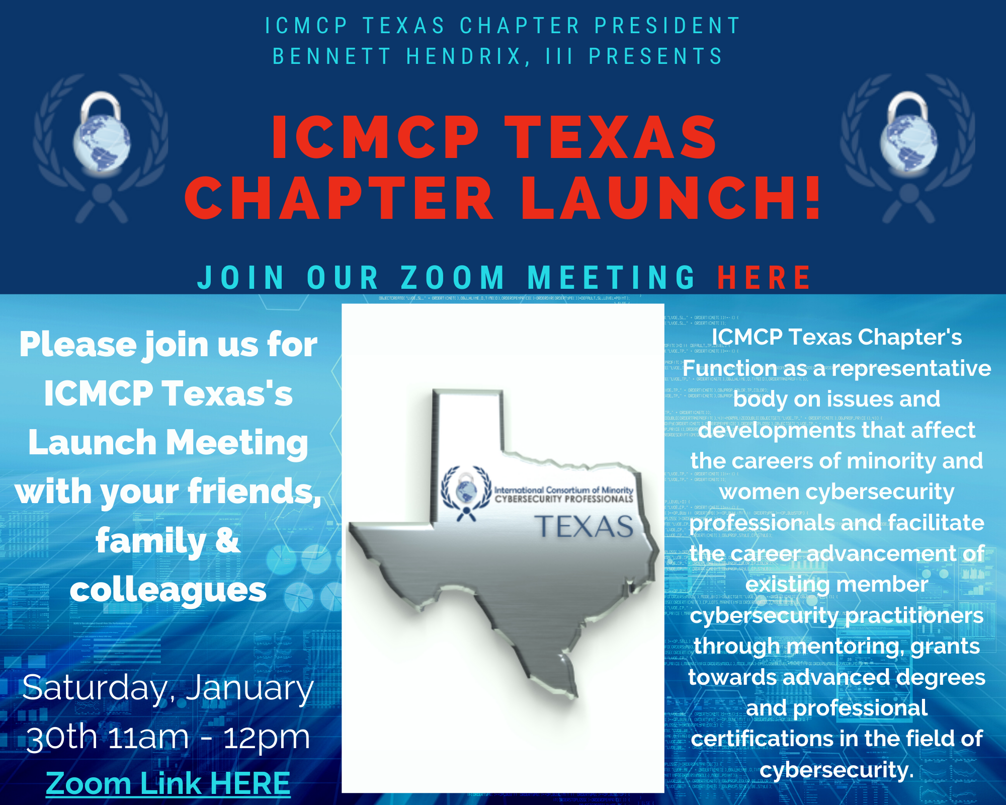 ICMCP Texas Chapter Launch